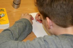 Montessori Schule March Primarstufe - Einzelarbeit