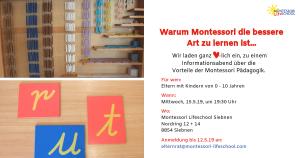 Infoabend Montessori